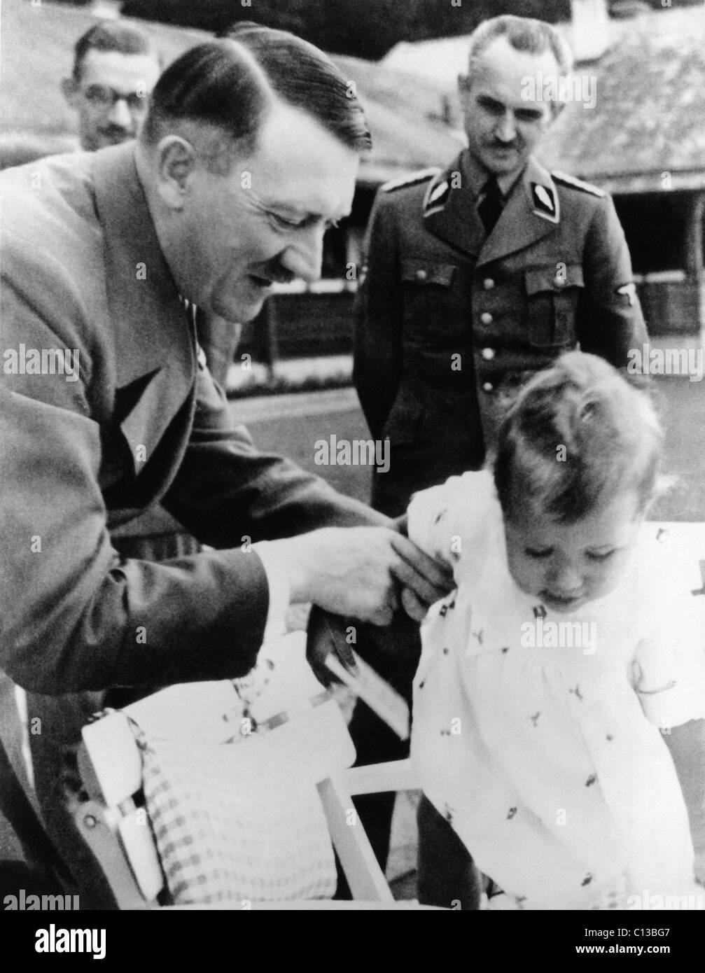 Adolf Hitler, ca. 1930s - Stock Image