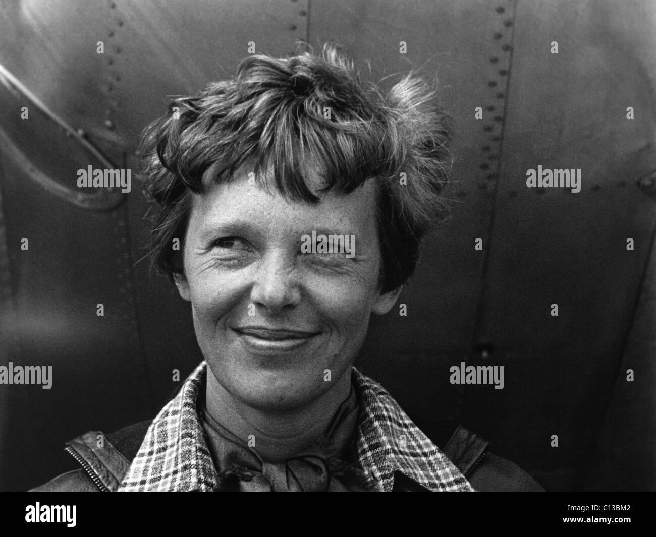 Amelia Earhart, 1930s - Stock Image