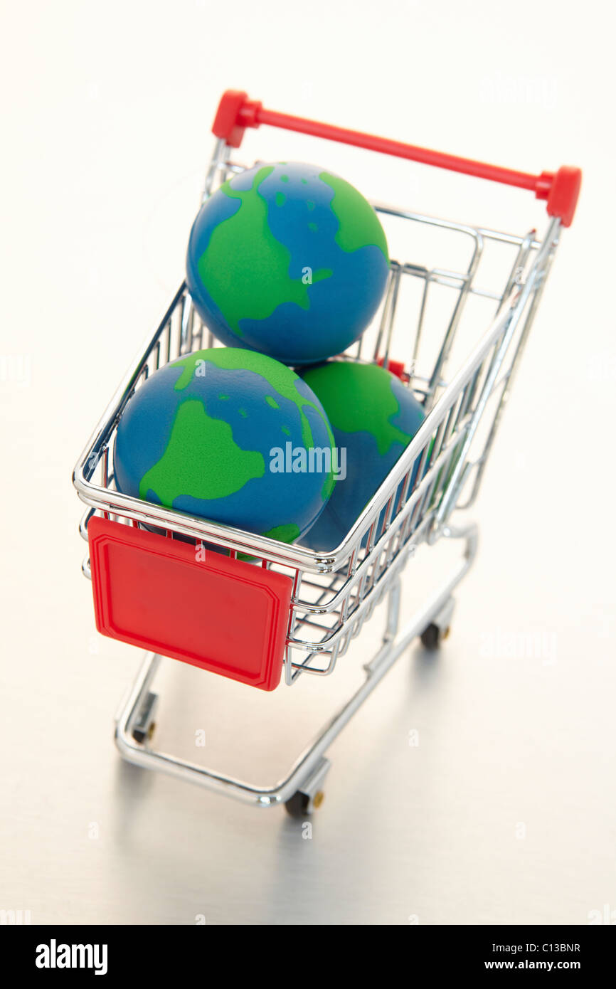 Global e-commerce - Stock Image