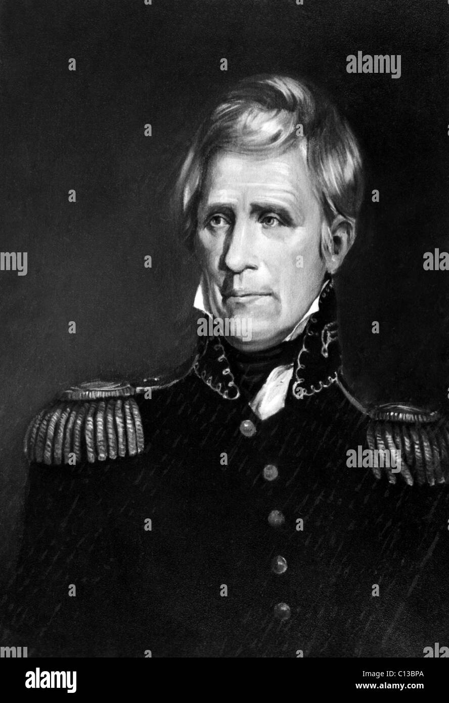 Andrew Jackson (1767-1845), U.S. President 1829-1837, circa early 1800s. - Stock Image