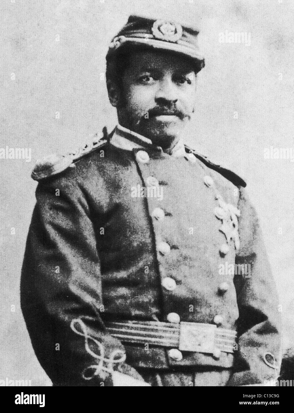 CHRISTIAN ABRAHAM FLEETWOOD  (1840-1914) Sergeant major in the 4th US Colored Infantry during the Civil War who - Stock Image