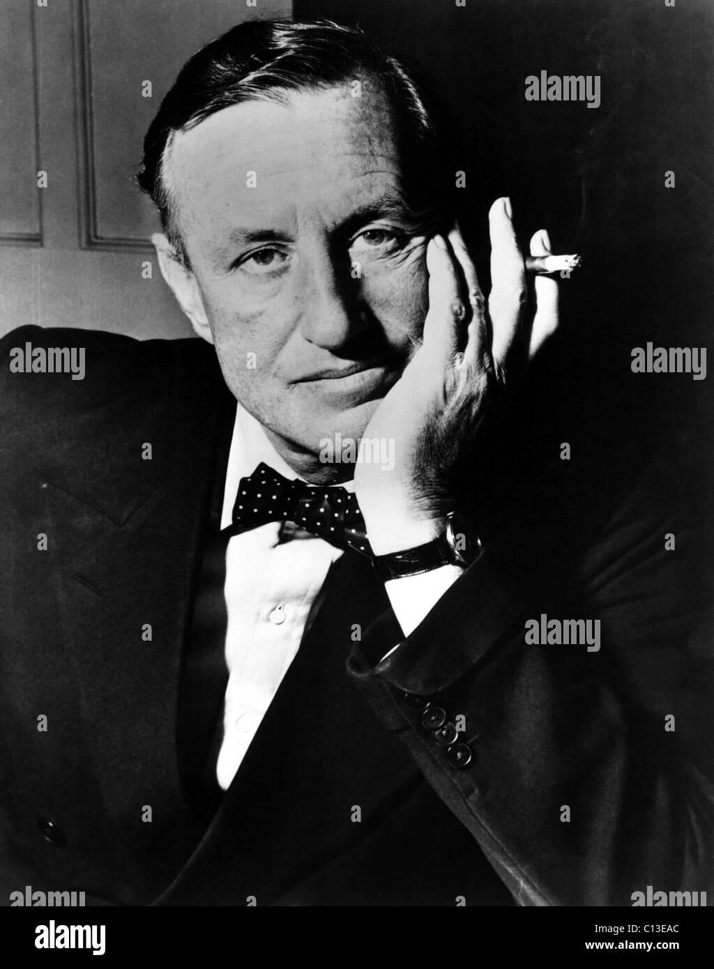 Author IAN FLEMING, creator of James Bond - Stock Image