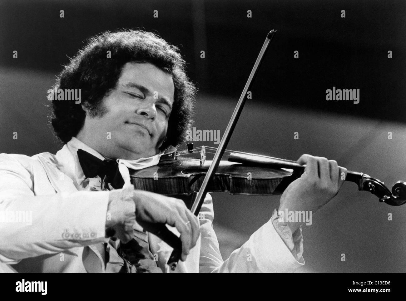 Itzhak Perlman, ca. 1970s - Stock Image