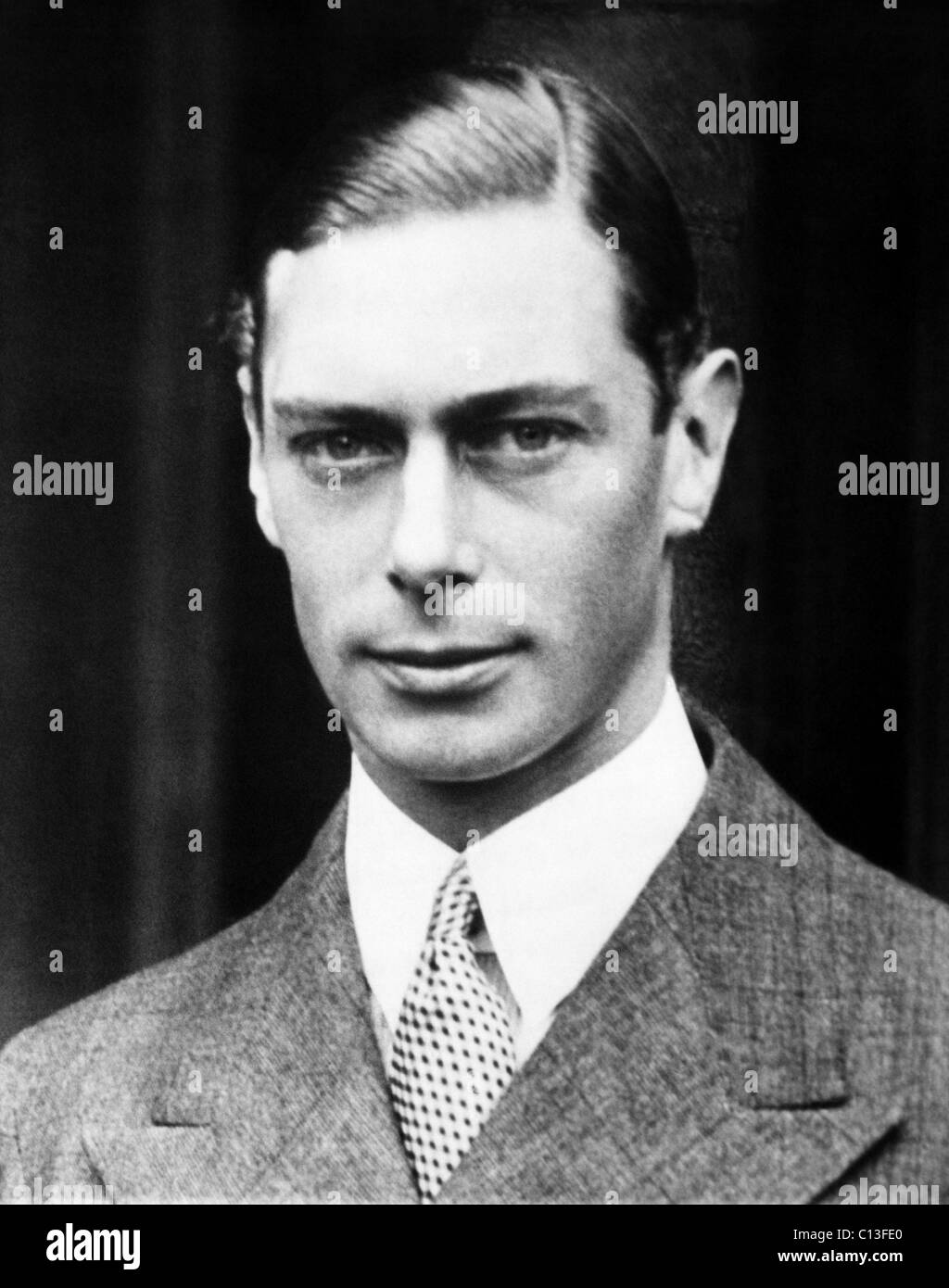 British Royalty. King George VI of England, 1936. - Stock Image