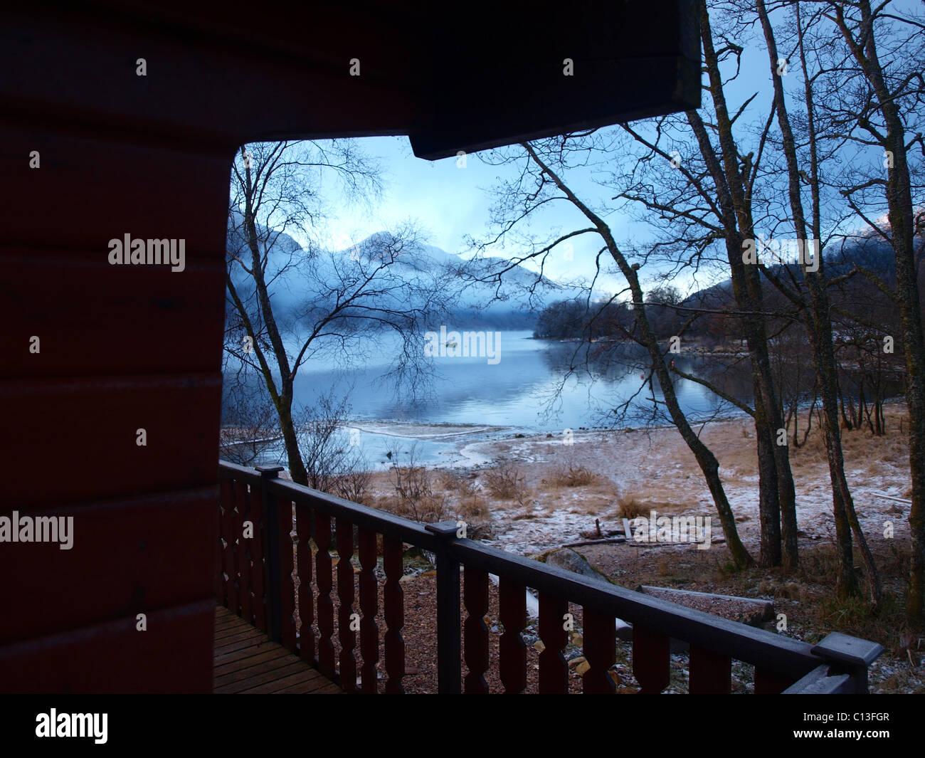Loch, Shiel, freshwater, Loch, Seile, Scotland, Highland - Stock Image