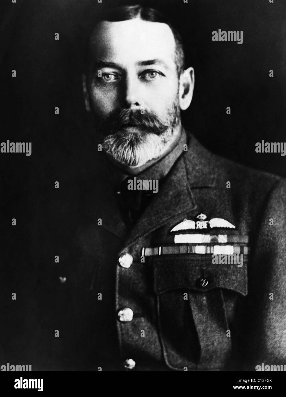 British Royalty. King George V of England, circa 1910s. - Stock Image