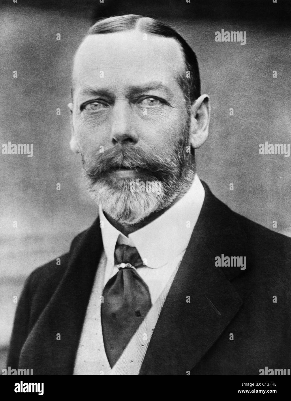 British Royalty. King George V of England, circa 1920s - Stock Image