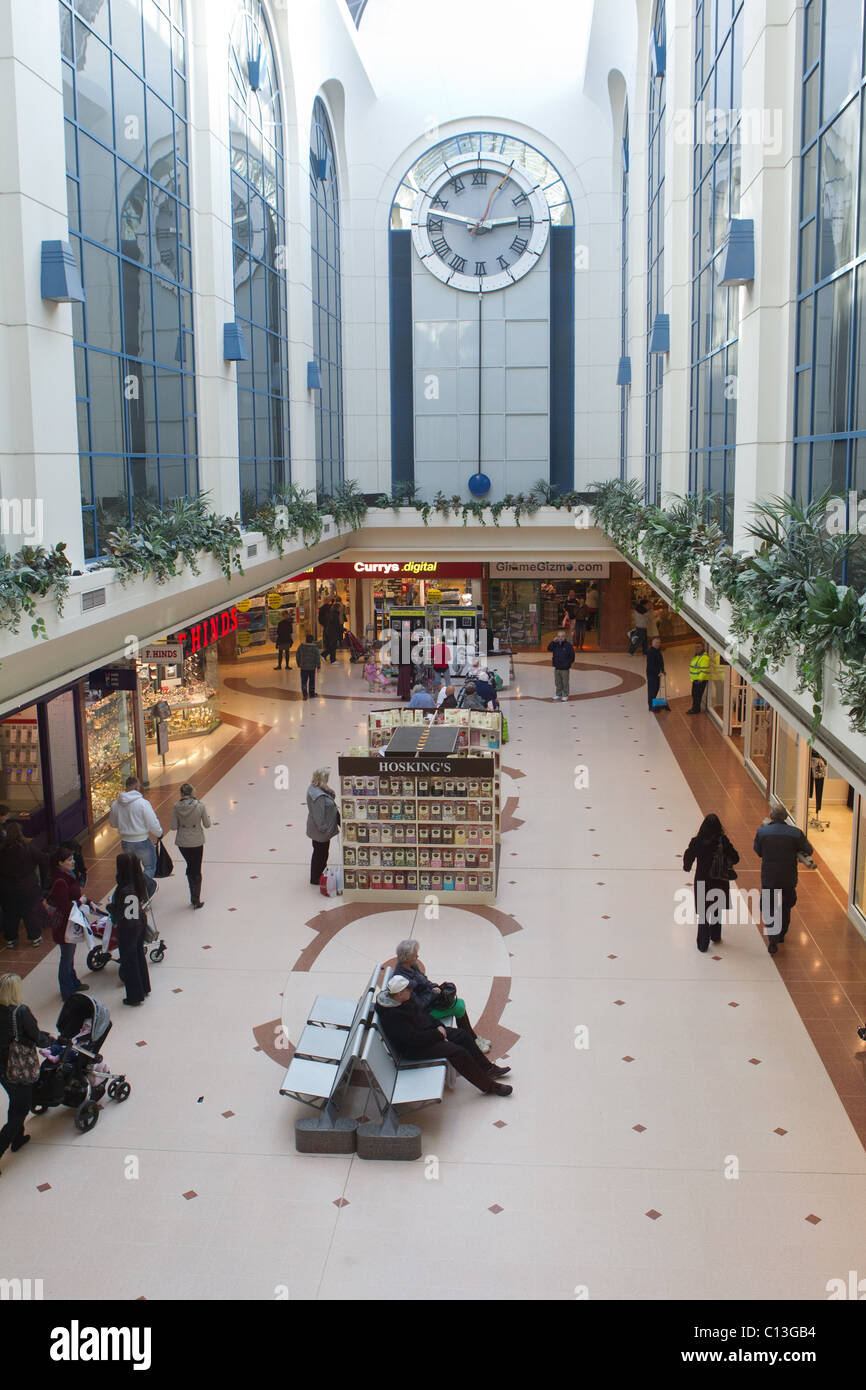 The Sovereign Shopping Centre, Weston-Super-Mare, Somerset - Stock Image