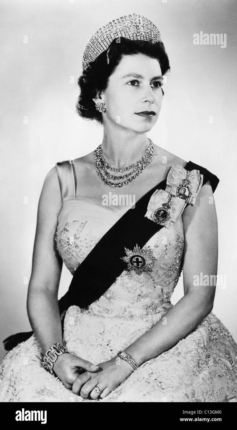 British Royalty  Queen Elizabeth II of England, Buckingham