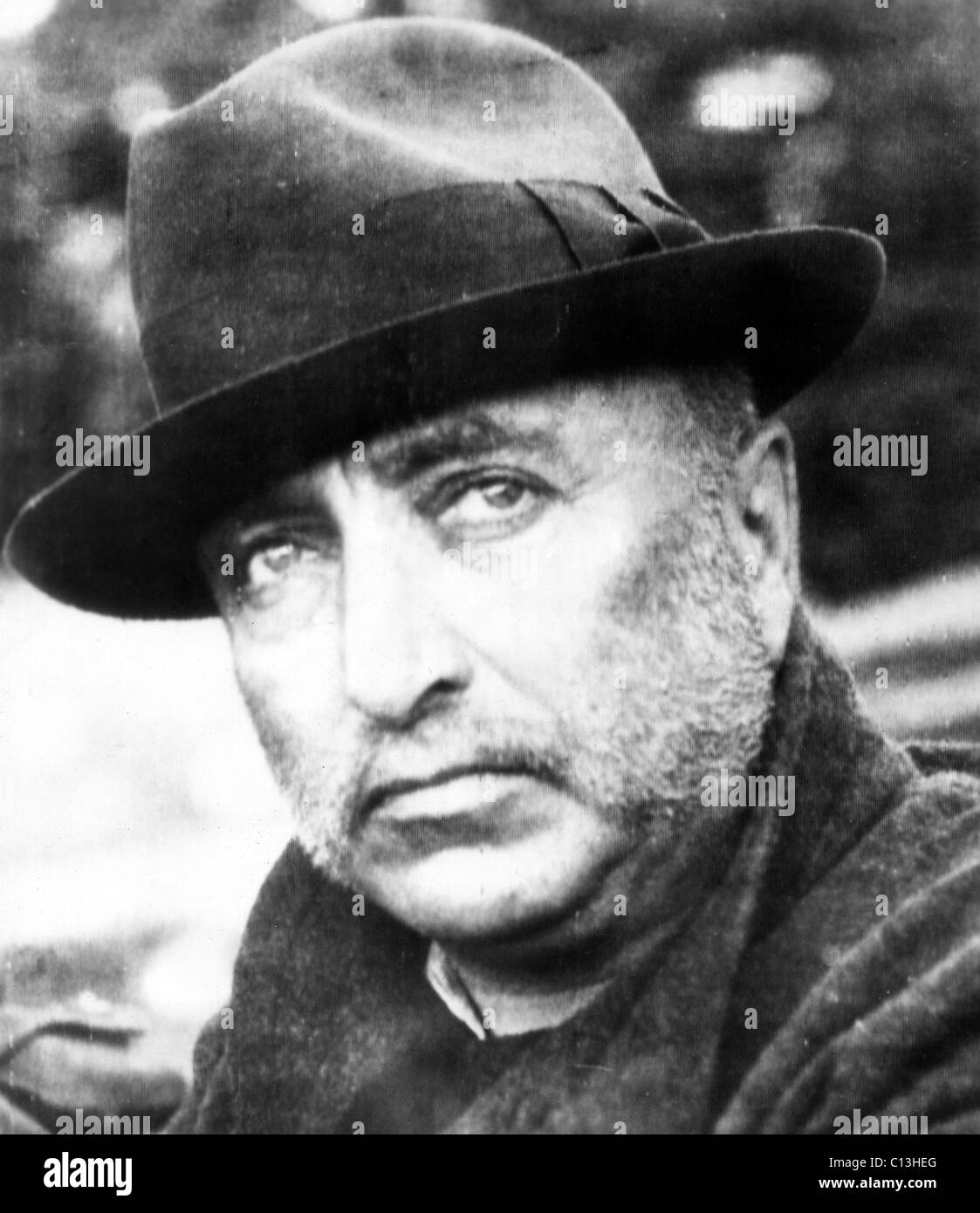 Robert Ley, Nazi Labor Front leader following his capture in Germany by Allied troops, May 1945 - Stock Image