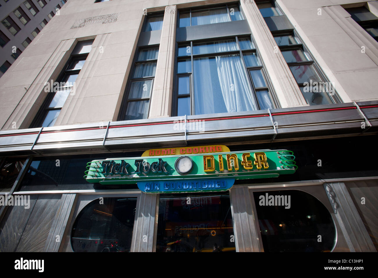 The Tick Tock Diner in the New Yorker Hotel in Midtown Manhattan is seen on Saturday, March 5, 2011. (© Richard - Stock Image