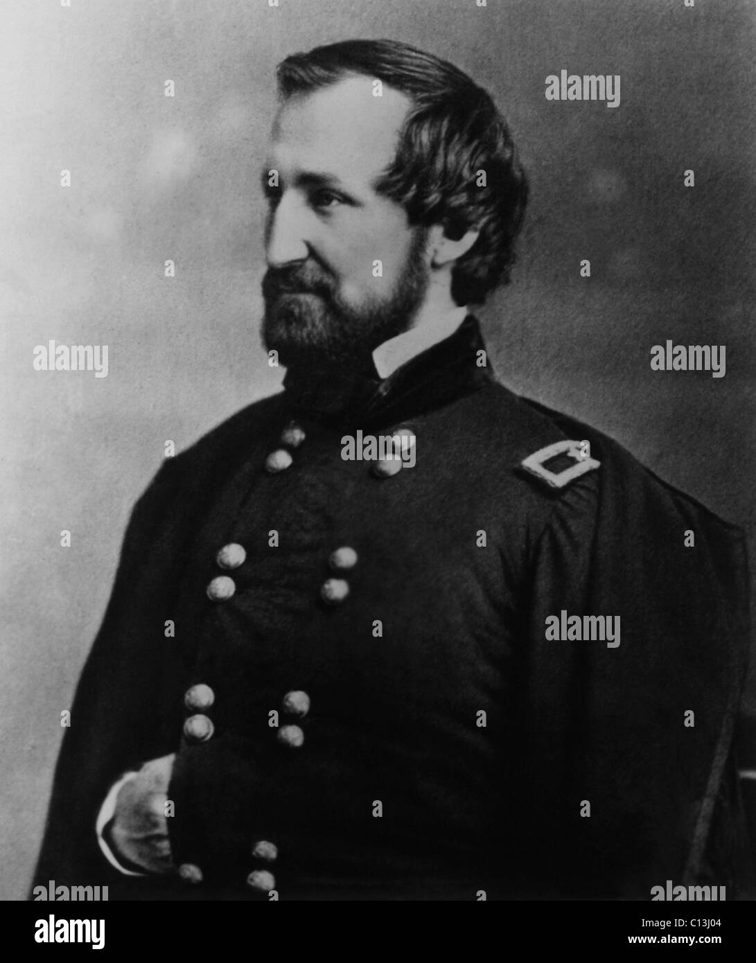 William Rosecrans (1819-1898), U.S. Army General for the Union in the Civil War, circa 1860s. - Stock Image