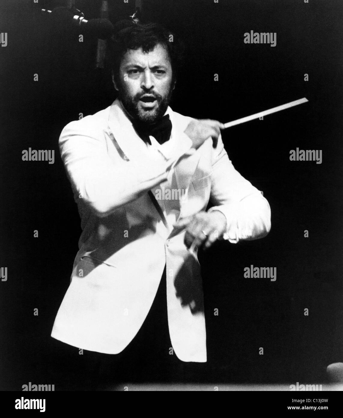 Zubin Mehta, ca. 1970s - Stock Image