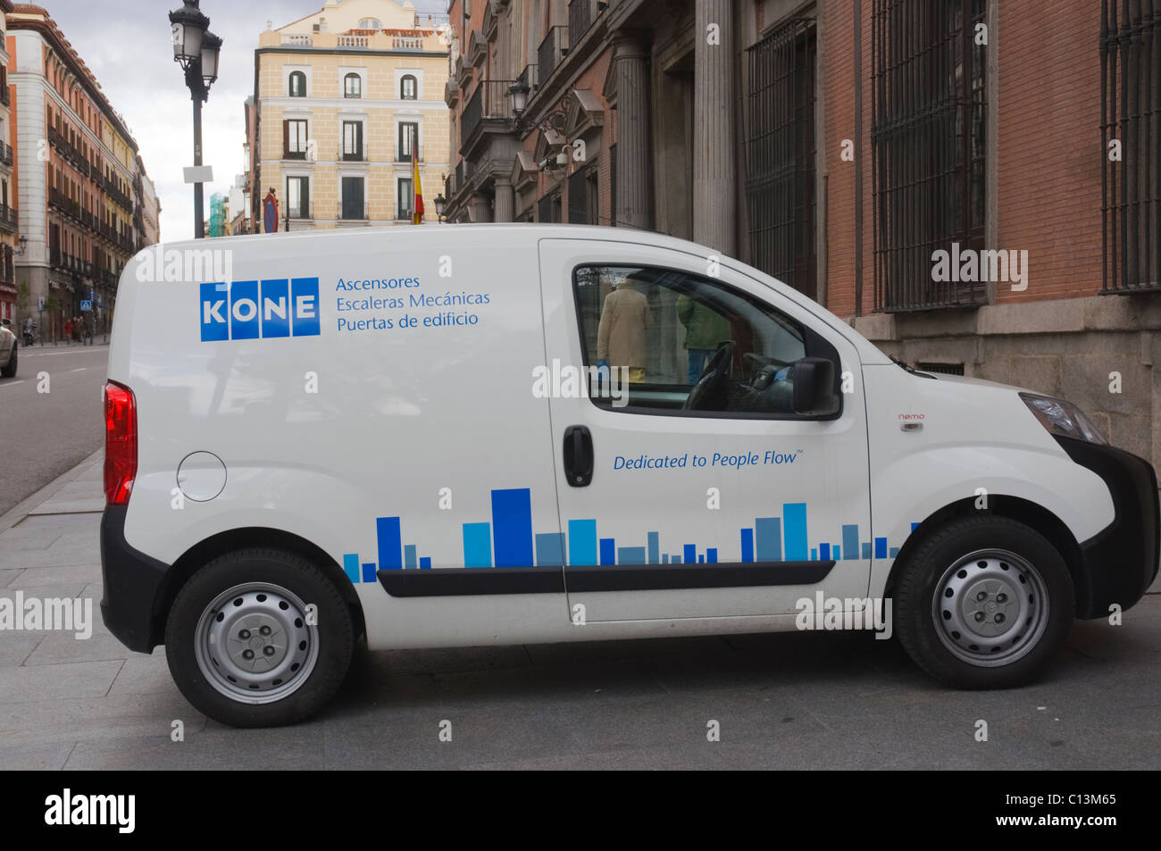 KONE international machinery lift door making corporation company car Madrid Spain Europe - Stock Image & Kone Stock Photos \u0026 Kone Stock Images - Alamy