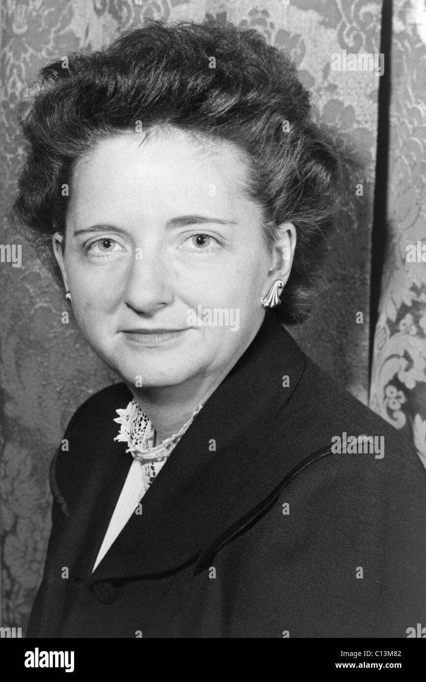 Elizabeth Bentley 1908-1963 American Communist Party member and spy for Soviets became an informer in 1945 when - Stock Image