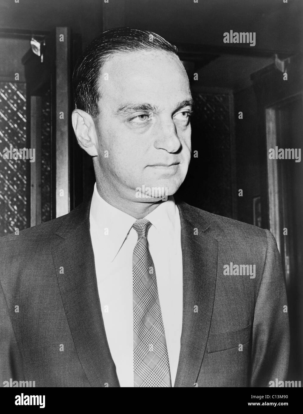 Roy M. Cohn 1927-1986 formerly an assistant to Senator McCarthy during his anti-Communist crusades created controversy - Stock Image