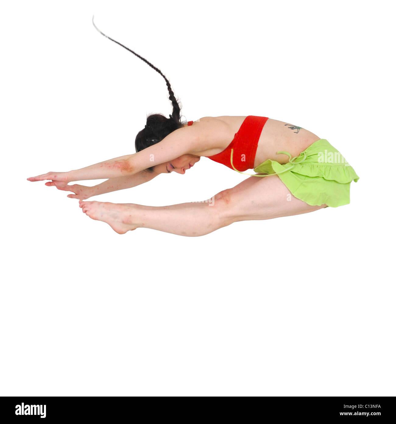 Female modern dancer - Stock Image