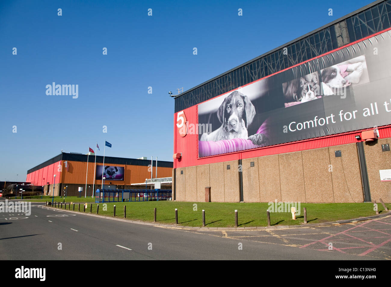 Crufts Exhibition Hall at the NEC, Birmingham - Stock Image