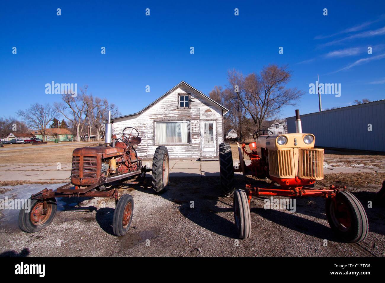 Antique Tractors America Stock Photos & Antique Tractors