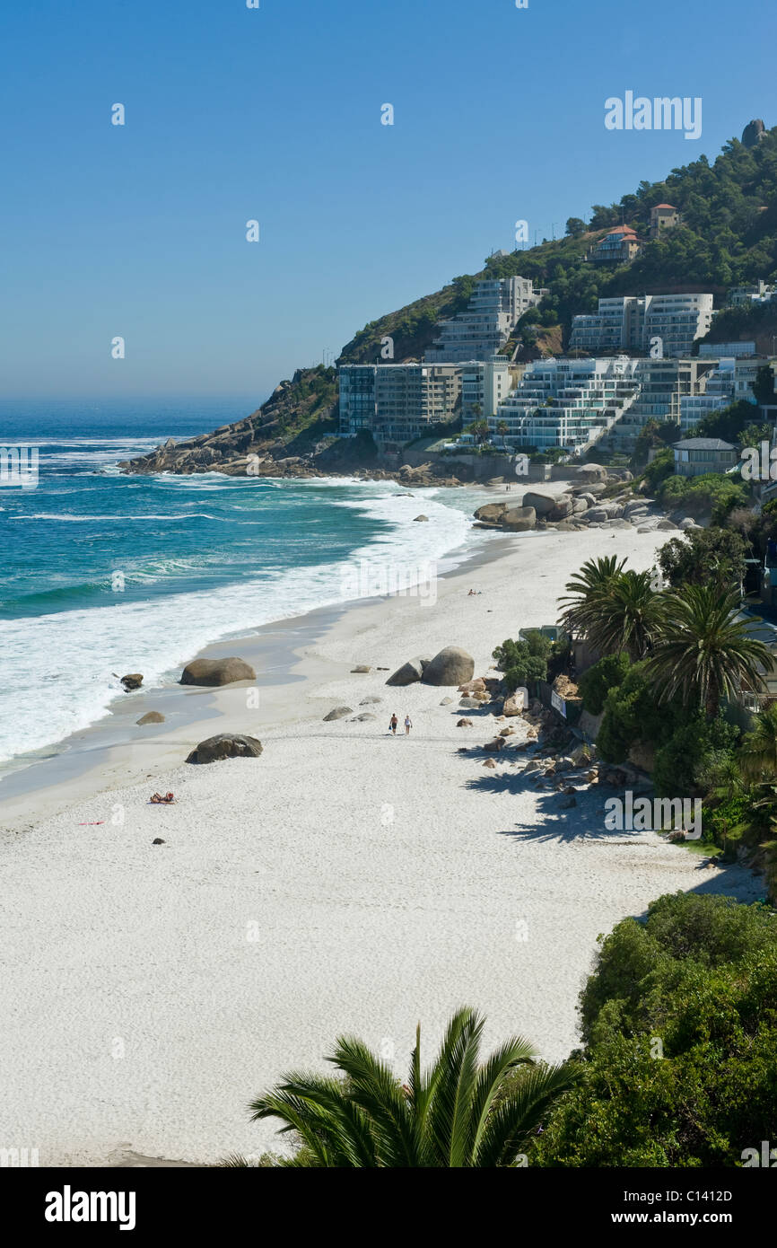Clifton Beach Cape Town South Africa - Stock Image