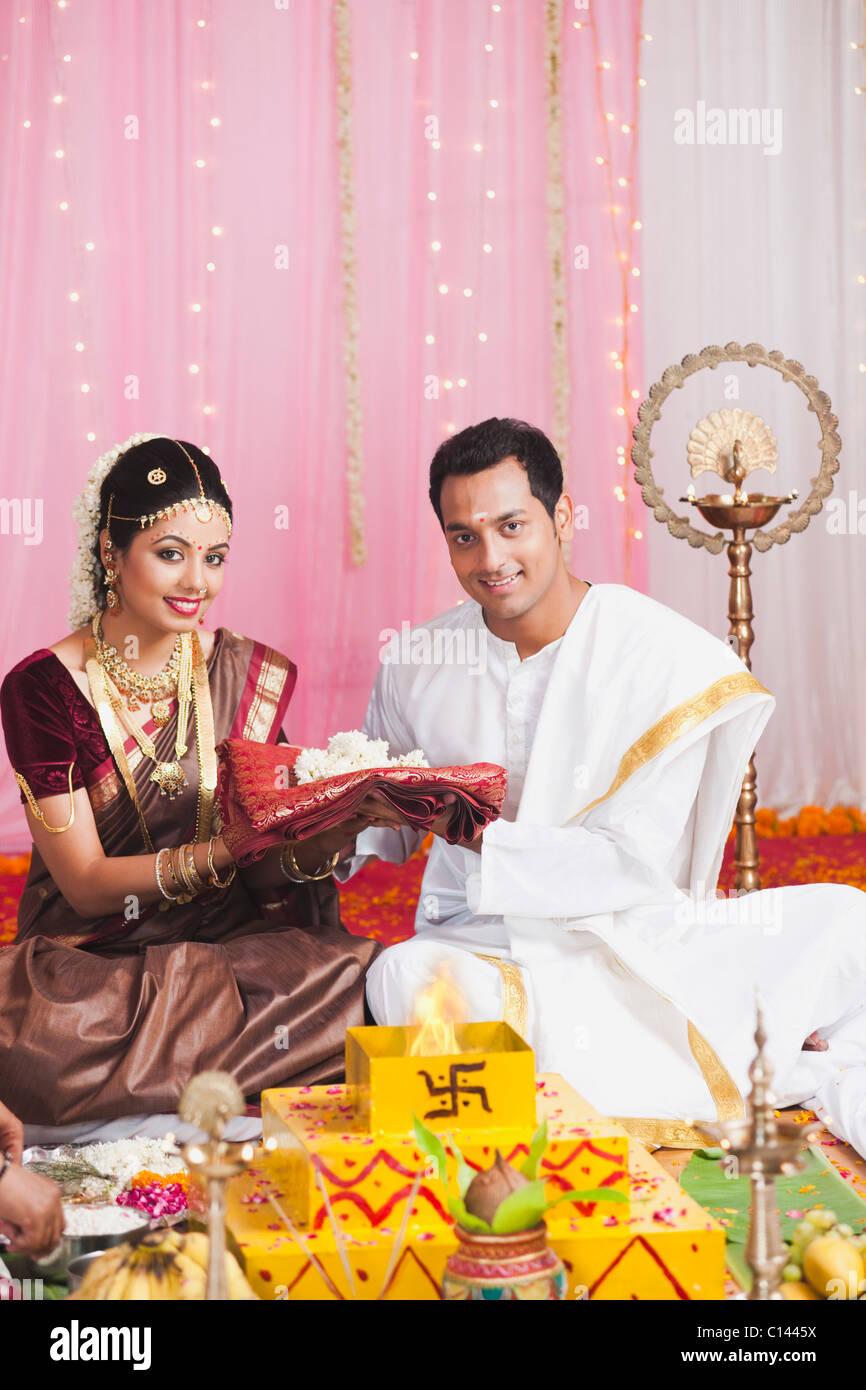 South Indian Wedding Stock Photos & South Indian Wedding Stock ...