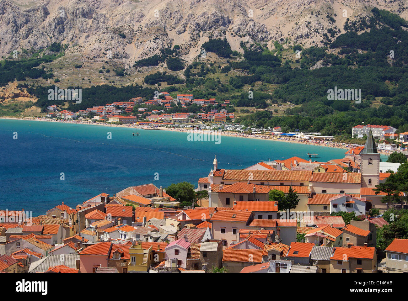 Baska 02 - Stock Image