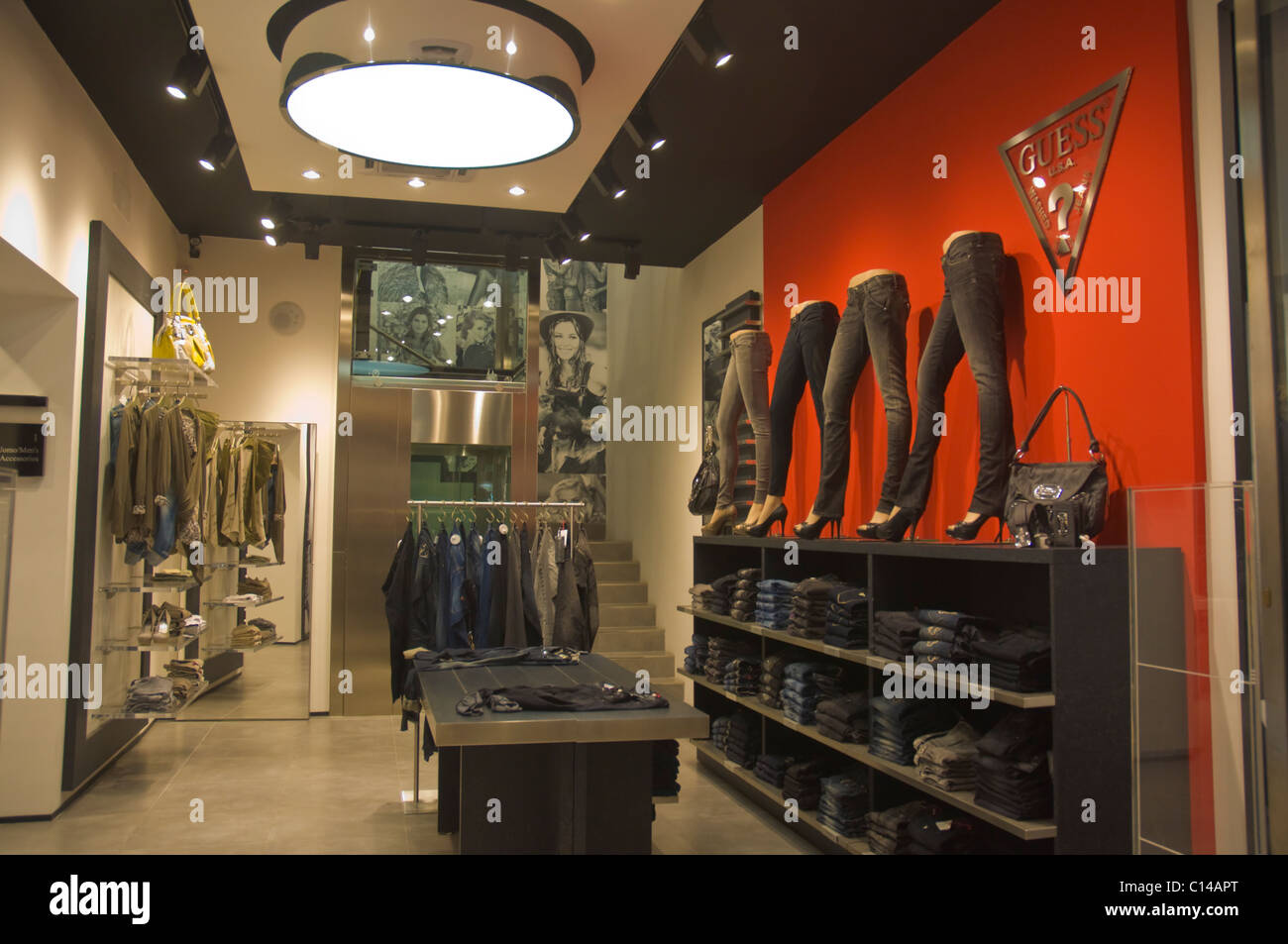 Guess Clothing Store Stock Photos & Guess Clothing Store