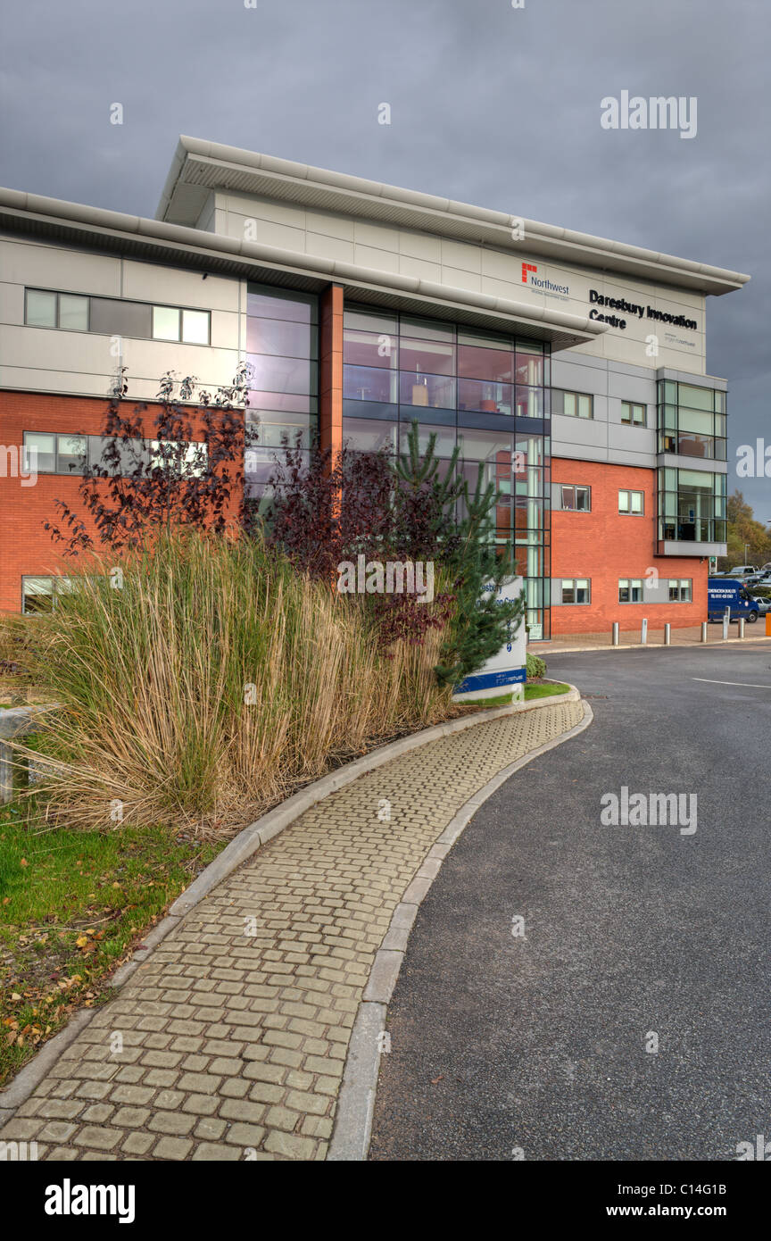 Daresbury Innovation Centre, Daresbury Science and Innovation Campus, Cheshire, UK Stock Photo