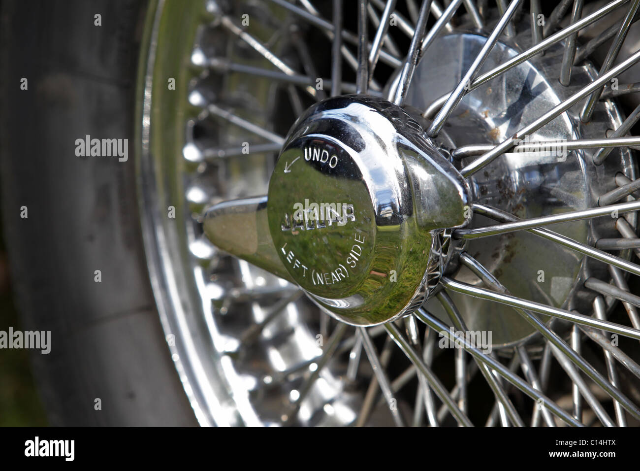 Wire Wheel Stock Photos Images Alamy 1970 Jaguar E Type Wiring Diagram Of A 1970s Etype Image