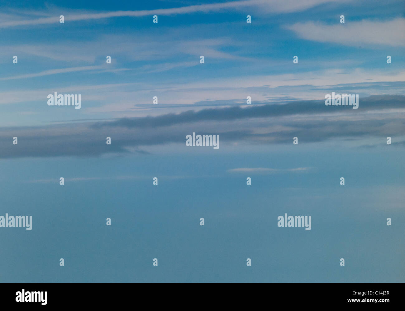 SKYSCAPE OVER VIRGINIA USA - Stock Image