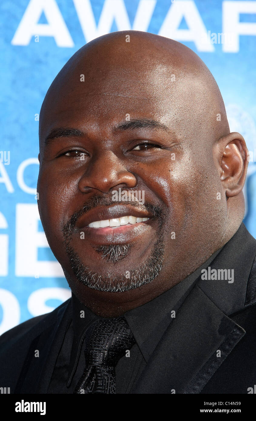 DAVID MANN 42ND NAACP IMAGE AWARDS ARRIVALS DOWNTOWN LOS ANGELES CALIFORNIA USA 04 March 2011 - Stock Image