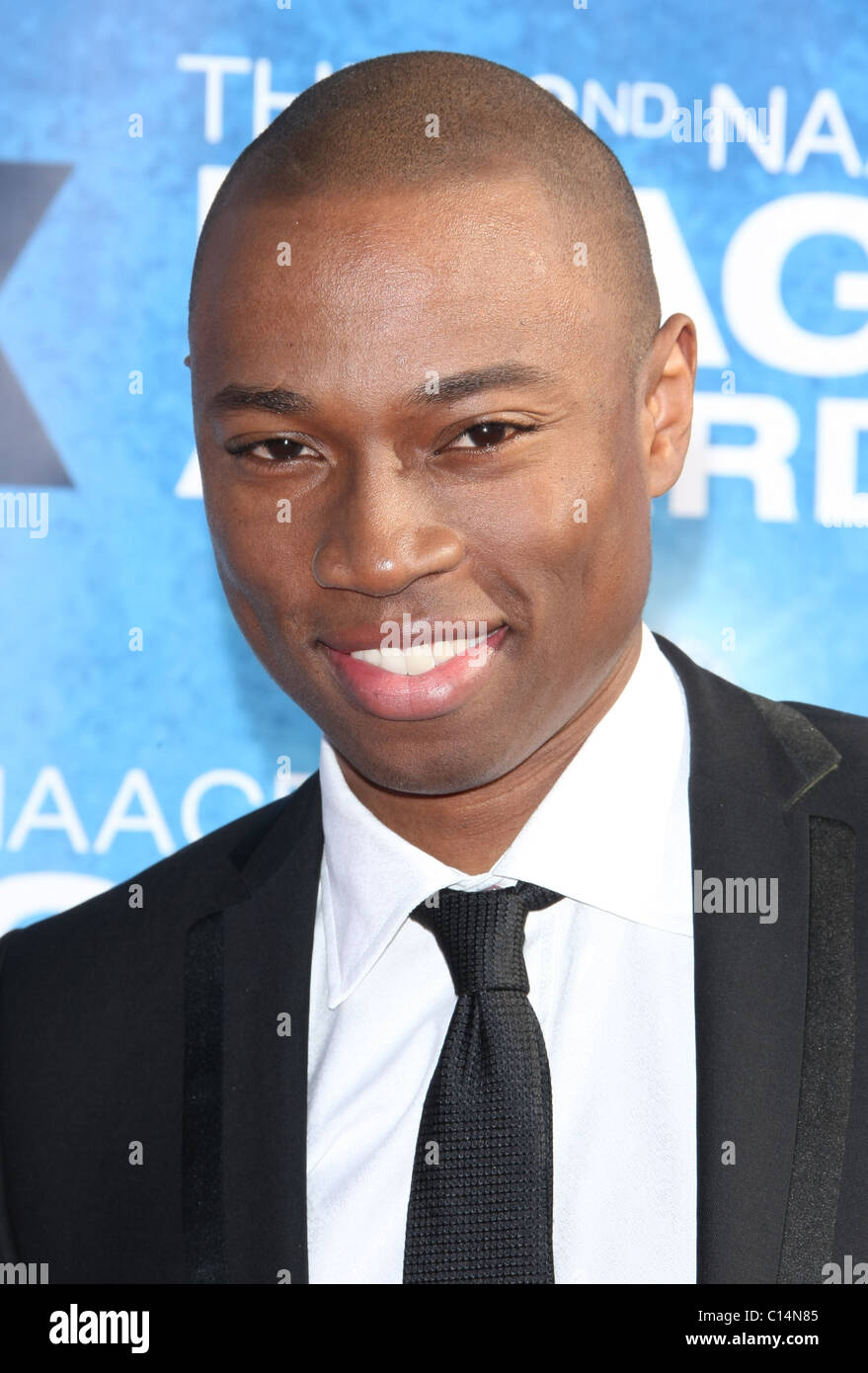 ROBBIE JONES 42ND NAACP IMAGE AWARDS ARRIVALS DOWNTOWN LOS ANGELES CALIFORNIA USA 04 March 2011 - Stock Image