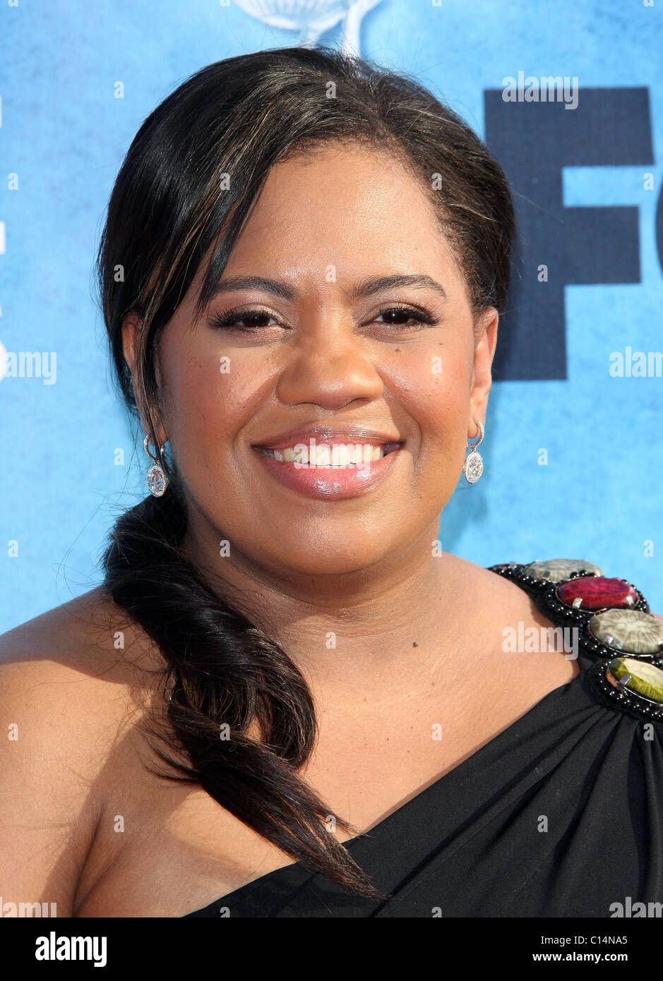 CHANDRA WILSON 42ND NAACP IMAGE AWARDS ARRIVALS DOWNTOWN LOS ANGELES CALIFORNIA USA 04 March 2011 - Stock Image