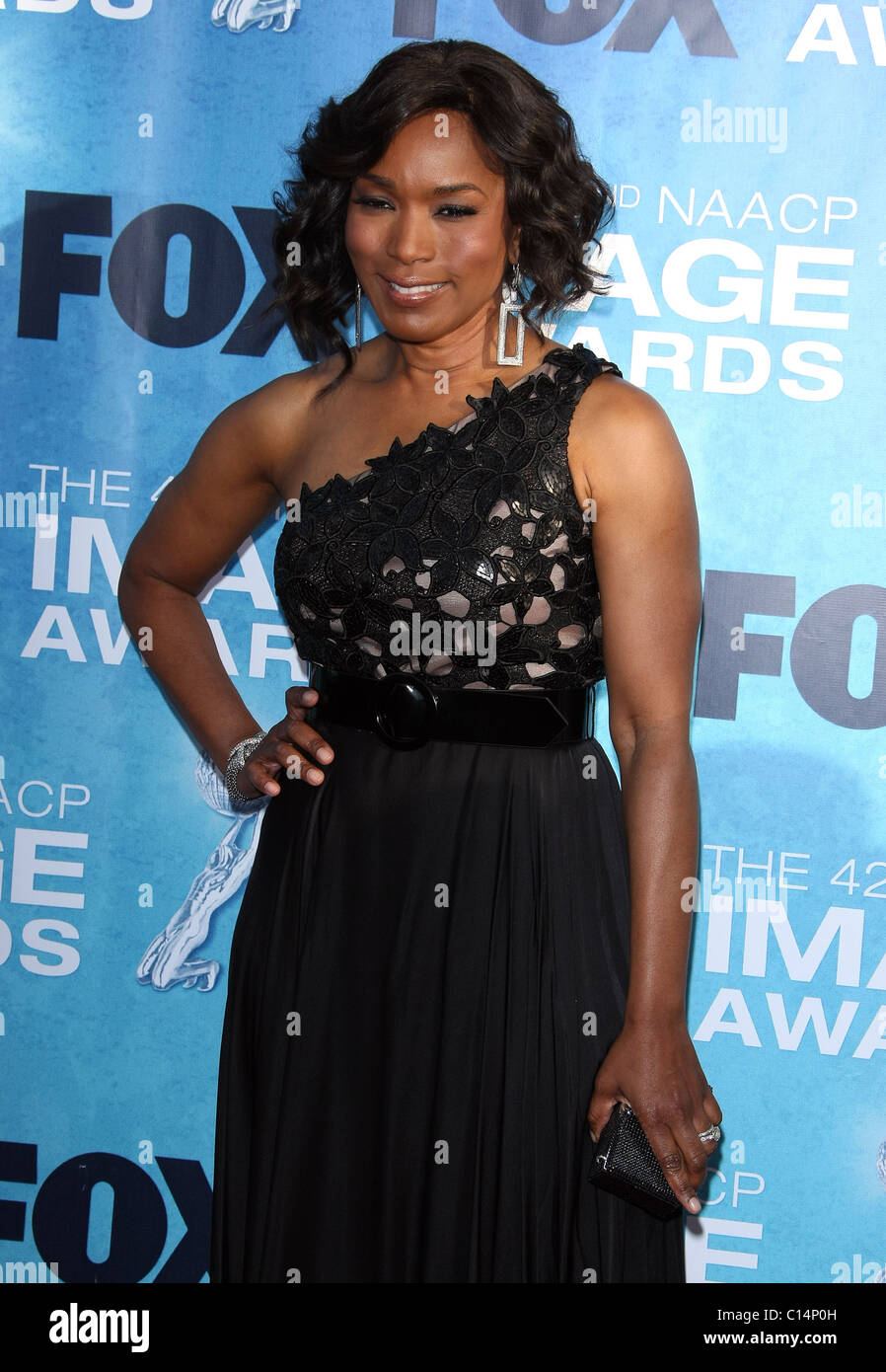 ANGELA BASSETT 42ND NAACP IMAGE AWARDS ARRIVALS DOWNTOWN LOS ANGELES CALIFORNIA USA 04 March 2011 - Stock Image