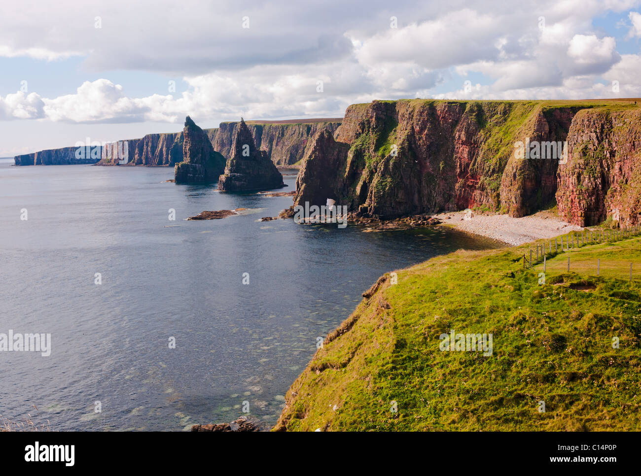 DUNCANSBY HEAD SCOTLAND UNITED KINGDOM - Stock Image