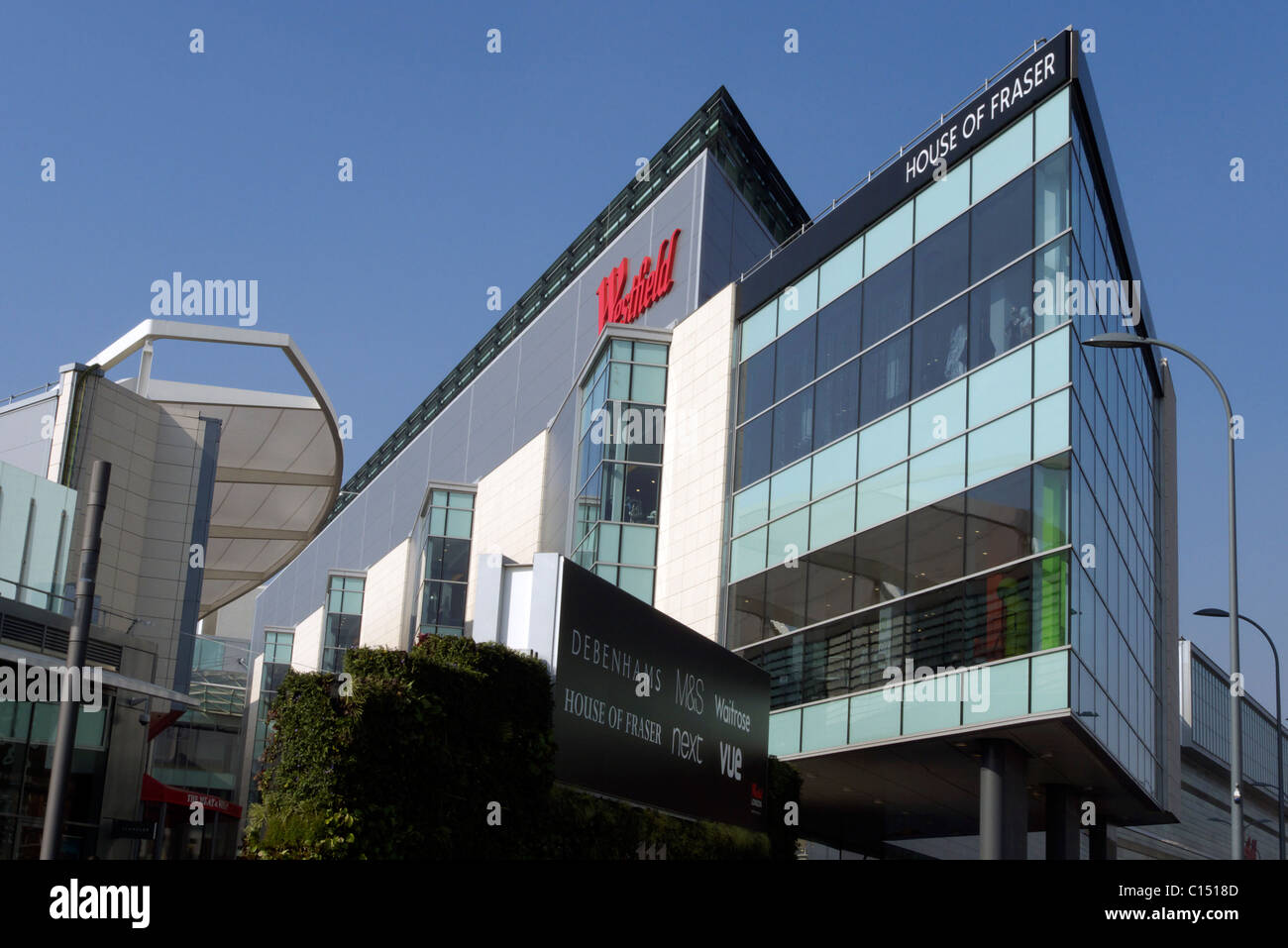 united kingdom west london white city the new westfield shopping centre - Stock Image