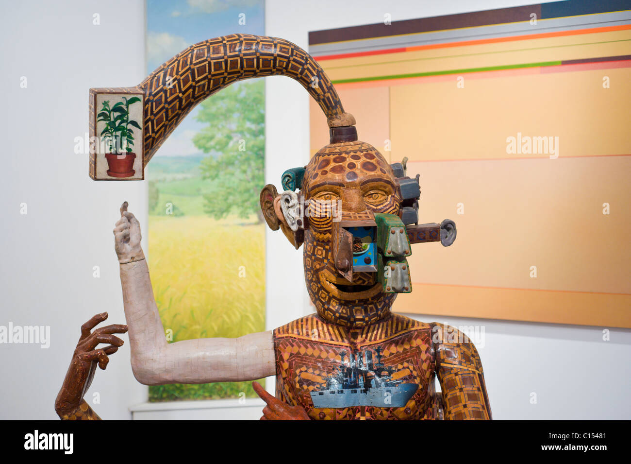'Lucky the Immortal' by Michael Ferris, Jr. - Anderson Museum of Contemporary Art in Roswell, New Mexico. - Stock Image