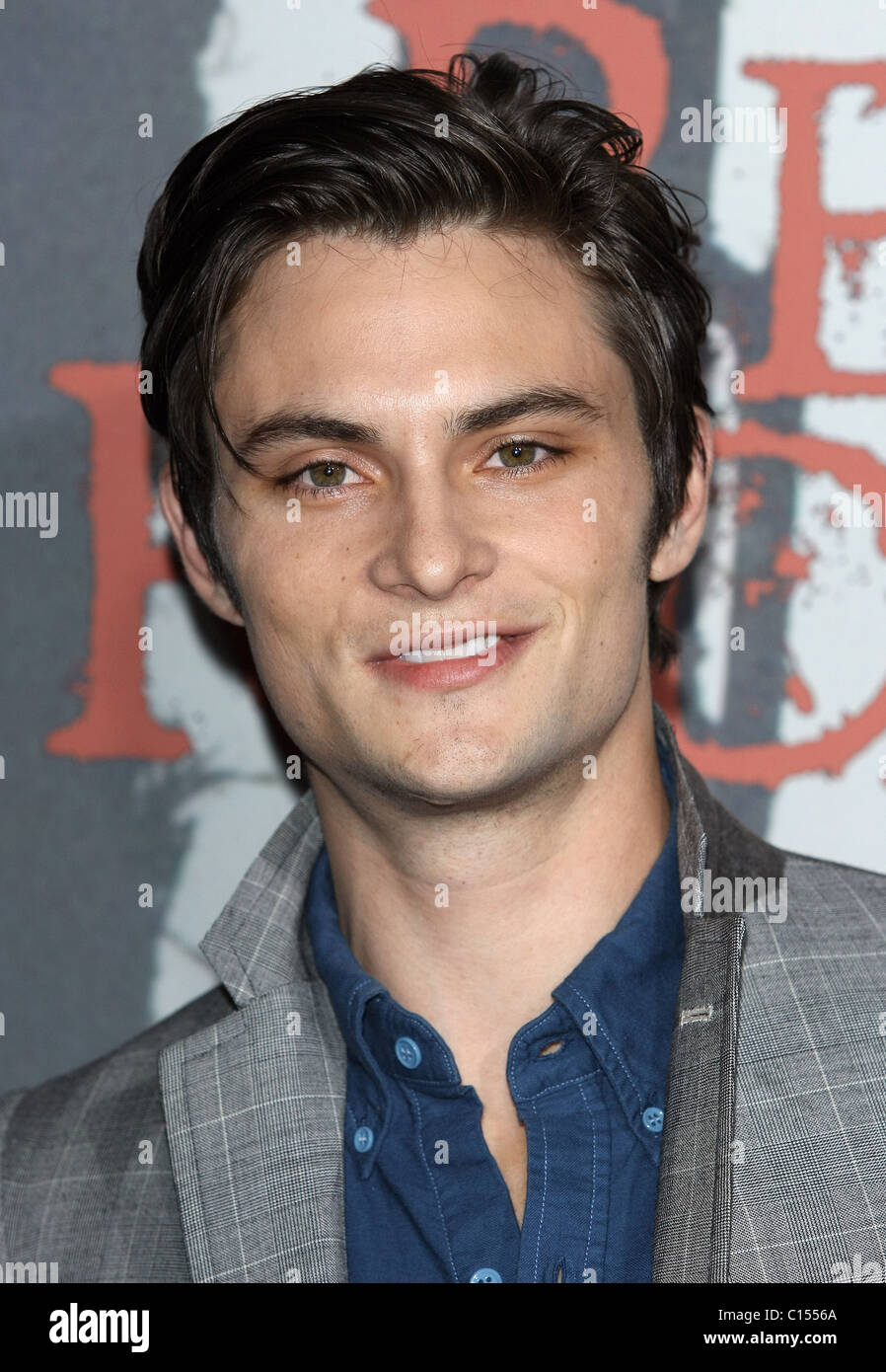 SHILOH FERNANDEZ RED RIDING HOOD LOS ANGELES PREMIERE. WARNER BROS. HOLLYWOOD LOS ANGELES CALIFORNIA USA 07 March - Stock Image