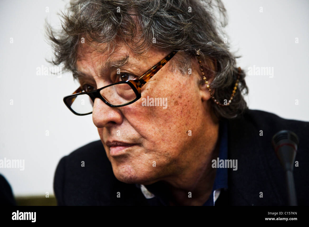 Playwright Tom Stoppard Stock Photo