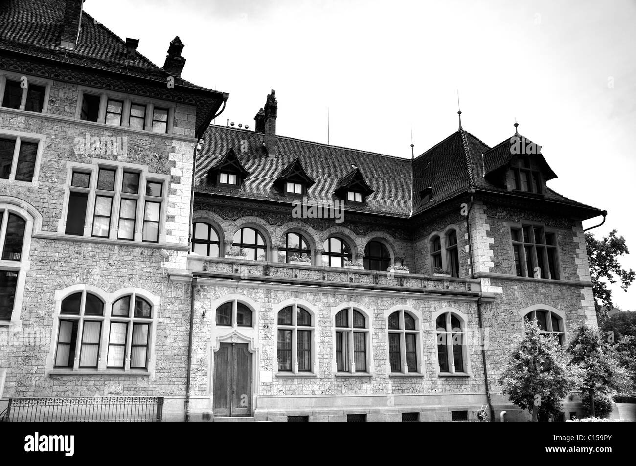 Swiss National Museum in Zurich - Stock Image