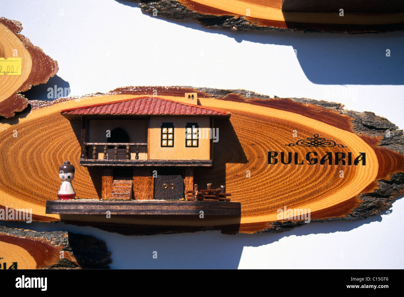 Souvenirs, Nessebar, Black Sea, Bulgaria, Southeastern Europe - Stock Image