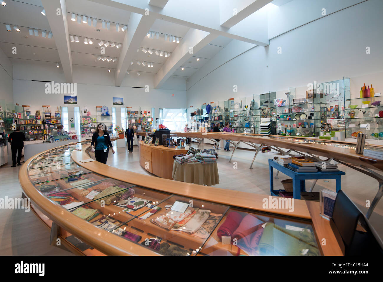 aabfee2a5f0bbf Museum Store, Quadracci Pavilion, designed by Santiago Calatrava, Milwaukee  Art Museum, Wisconsin