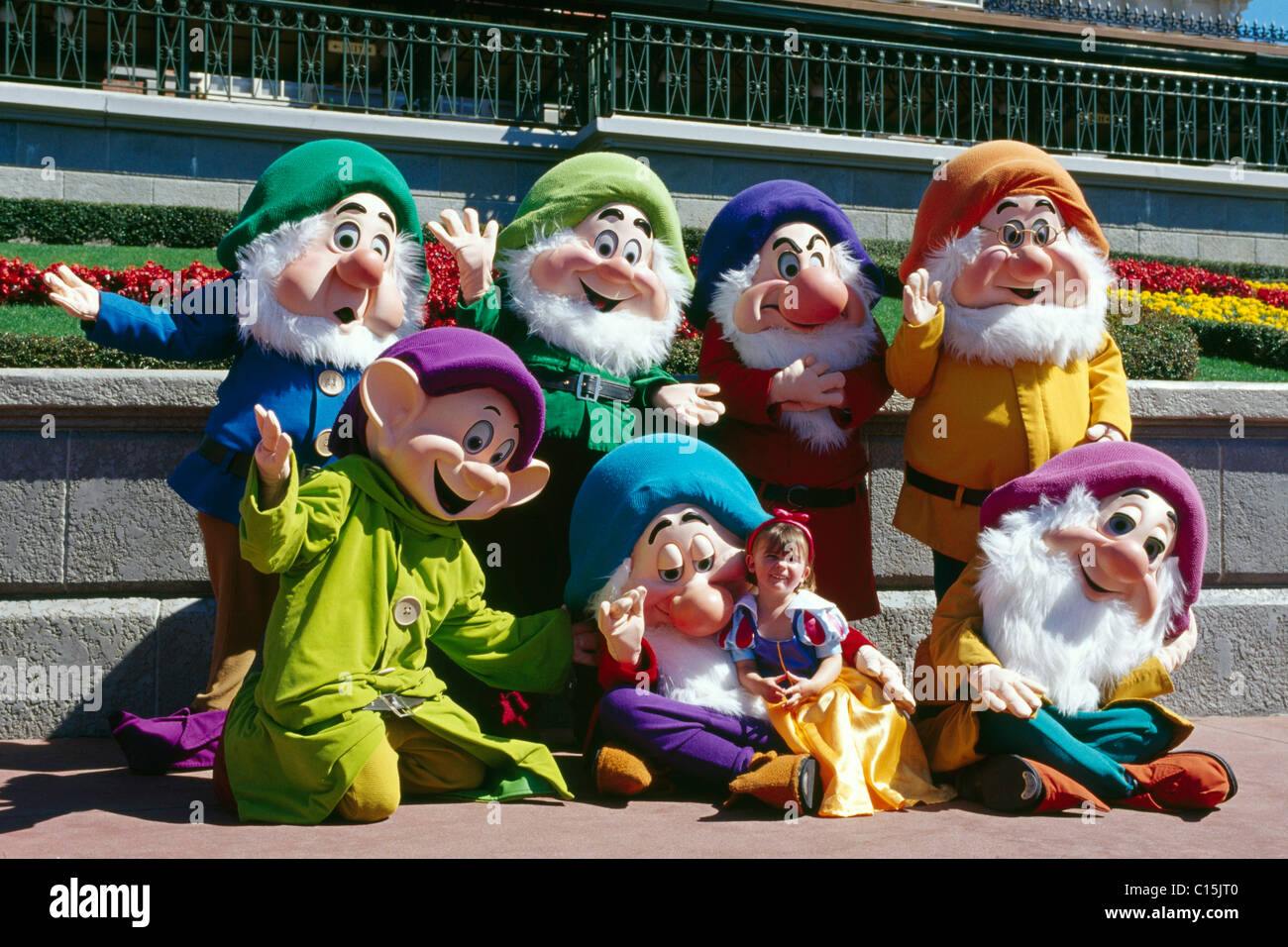Snow White And The Seven Dwarfs Stock Photos Snow White And The