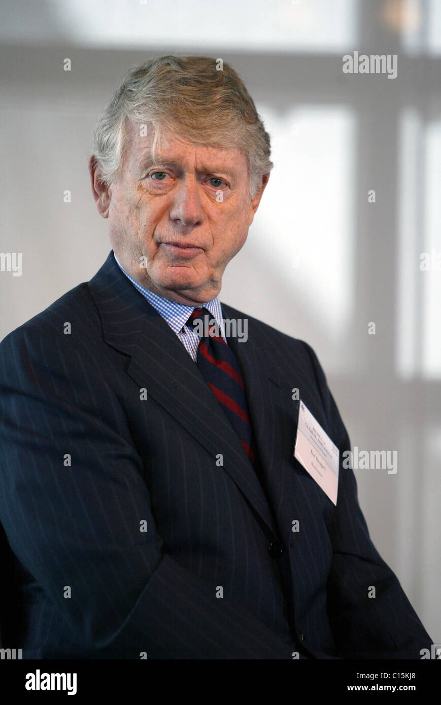 Ted Koppel at the United States Institute of Peace conference on 'Media As A Global Diplomat' held at the - Stock Image