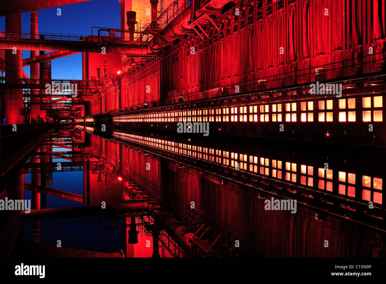 Zeche Zollverein, Essen, North Rhine-Westphalia, Germany, Europe - Stock Image