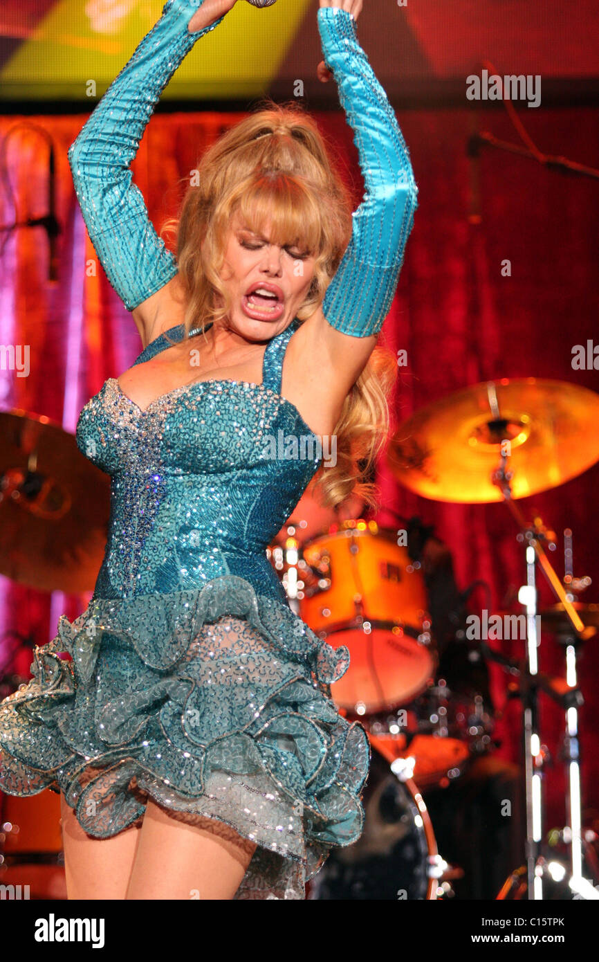 Charo Performs At The South Point Hotel And Casino Las Vegas Nevada