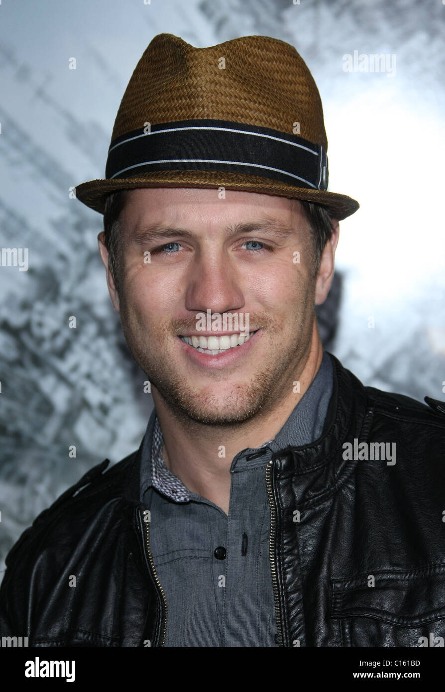 ROSS THOMAS BATTLE: LOS ANGELES FILM PREMIERE. COLUMBIA PICTURES LOS ANGELES CALIFORNIA USA 08 March 2011 - Stock Image