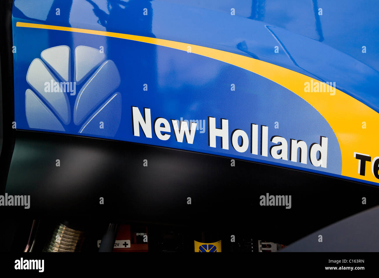 New Holland Logo © - Stock Image