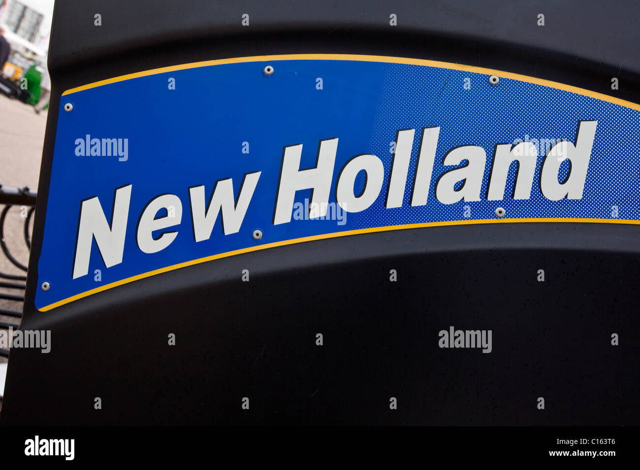 New Holland Logo - Stock Image