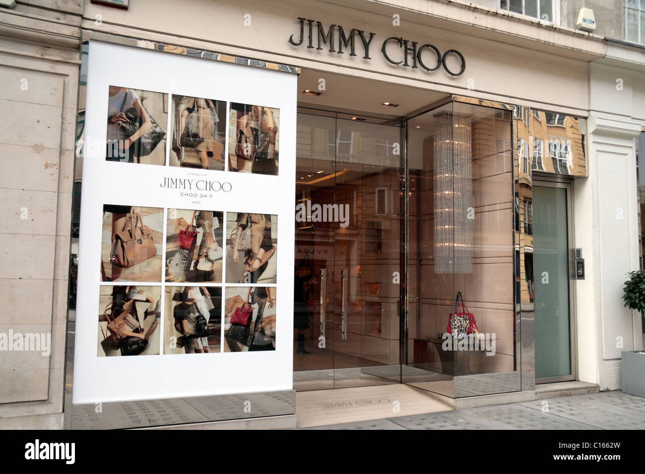 0277dfdaf465 The Jimmy Choo designer shoe and fashion accessory store on Sloane Street